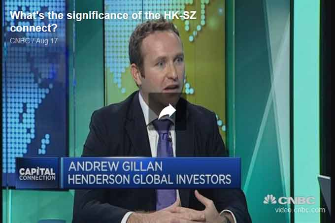 Andrew Gillan on CNBC
